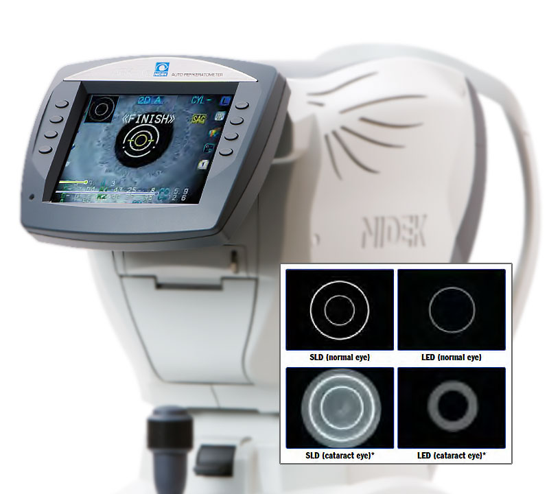 Marco ARK-1S Autorefractor & Keratometer Double-Ring Technology
