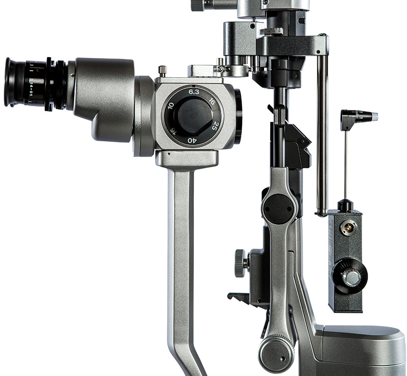 Marco AT-9 Applanation Tonometer On Ultra M Series Slit Lamp