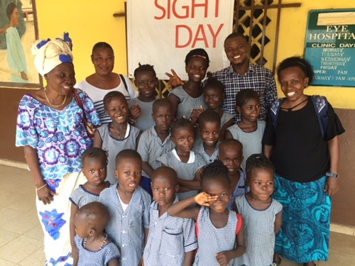 Marco Support for Vision Care of Ebola Survivors in West Africa